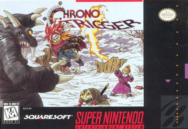 Screenshot-titre du test de Chrono Trigger