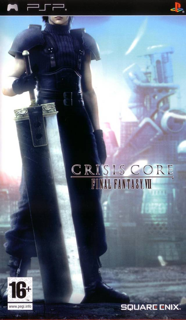 Screenshot-titre du test de Final Fantasy VII - Crisis Core
