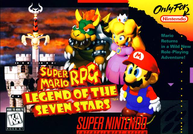 Screenshot-titre du test de Super Mario RPG : Legend of the Seven Stars