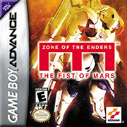 Screenshot-titre du test de Zone of the Enders: the Fist of Mars