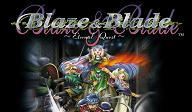 Screenshot-titre du test de Blaze & Blade